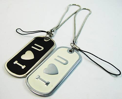 金屬雕刻-手機吊飾